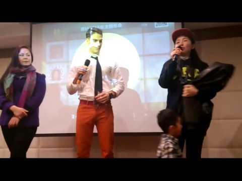 J-FIT Speech the the Annual Vegan dinner Shanghai 2016