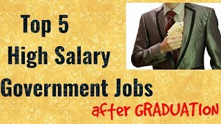 Best Government Jobs After Graduation thumbnail