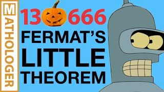 Fermat's HUGE little theorem, pseudoprimes and Futurama