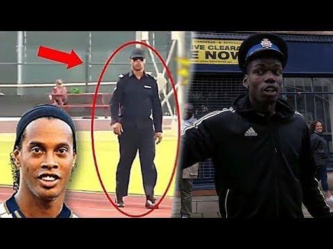 Famous Football Players In Disguise ● Pogba, Ronaldinho, Ronaldo