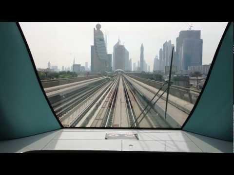 Dubai Metro Station announcement 2012