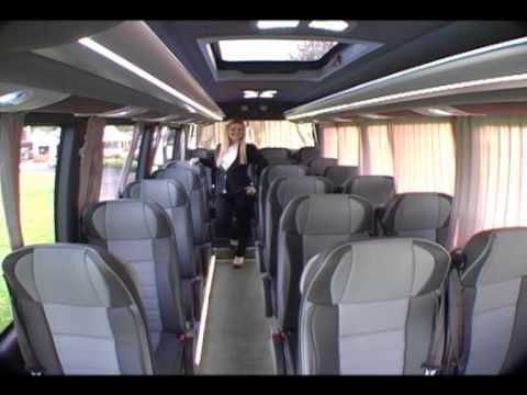 18 Passenger Van >> MERCEDES BENZ SPRINTER PANORAMA 2012 - YouTube