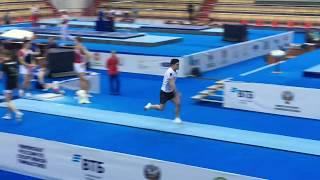Чемпионат России по спортивной гимнастике - Казань - прыжок