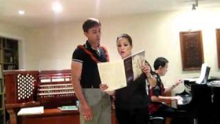 Lea Salonga - The Prayer (with Guy Merola)
