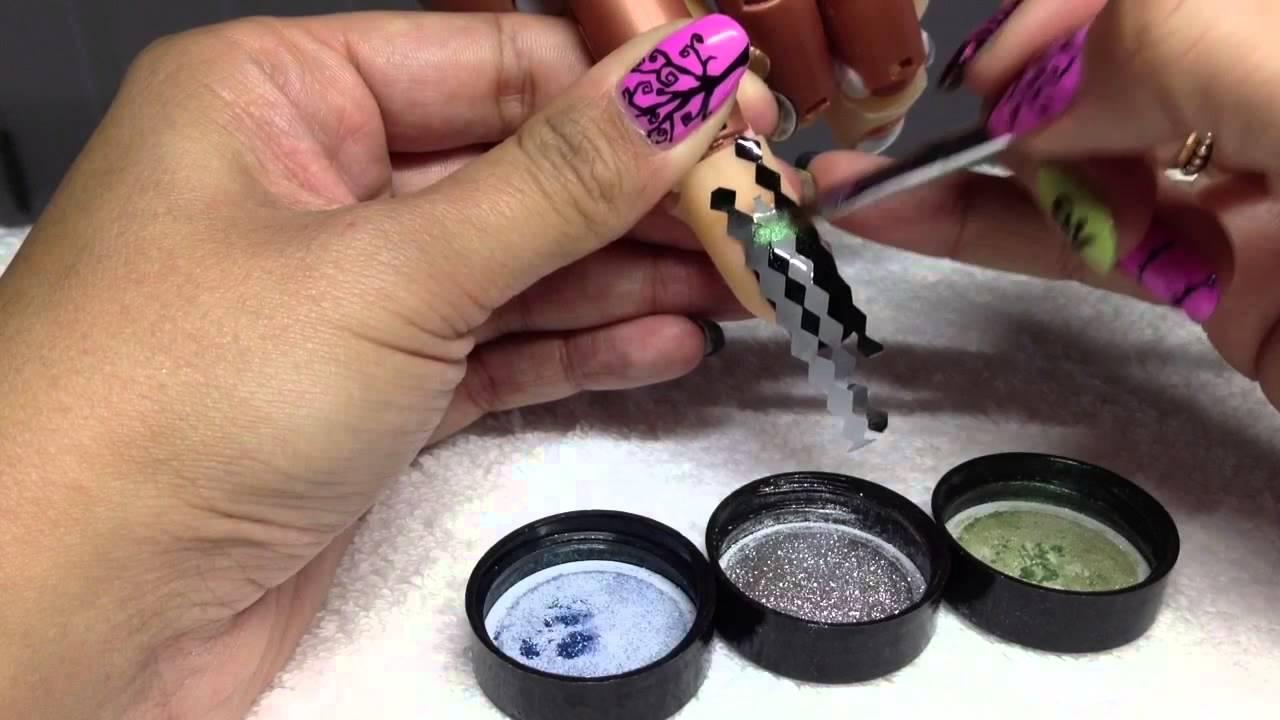 Cnd Shellac Harlequinargyle Nails Empower Nail Art Additives
