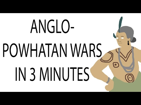 Anglo-Powhatan Wars | 3 Minute History