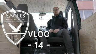 Vlog 14 - Otočná sedačka a podlaha pod řidičem \\ Swivel seat and cabin floor