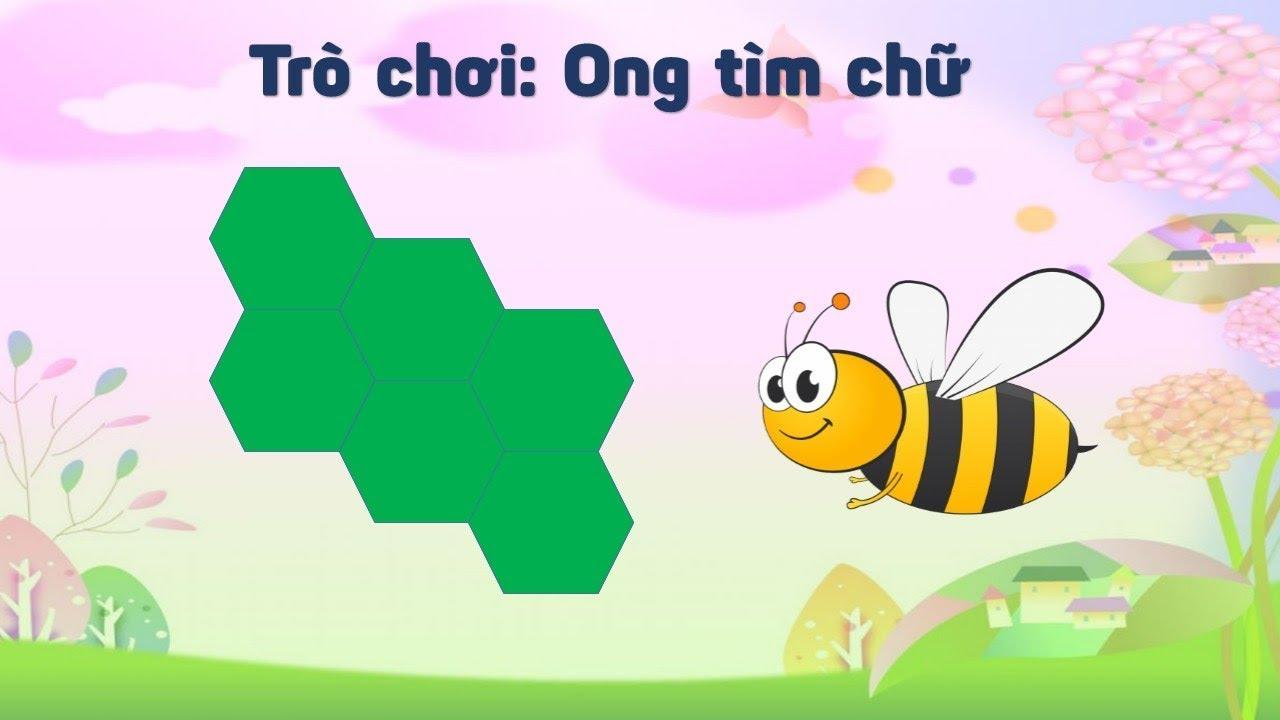 Cách làm Trò chơi ong tìm chữ hay trò chơi lật hình - YouTube