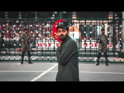 أخطر حدود في العالم !! باكستان والهند  India-Pakistan Border