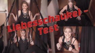 Liebesschaukel Decke, Tür Sex Schaukel & Beinspreizer LOVE SWING TEST *english sub*