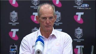NRL Press Conference: Brisbane Broncos - Finals Week 1