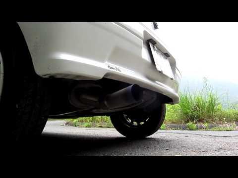 peugeot 106 rallye titan exhaust sound from japon