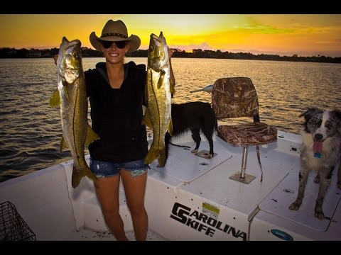Snook fishing in the Loxahatchee River