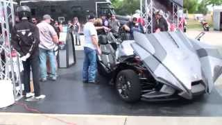 Polaris Slingshot @ 2015 Bikes, Blues, BBQ in Fayetteville, AR