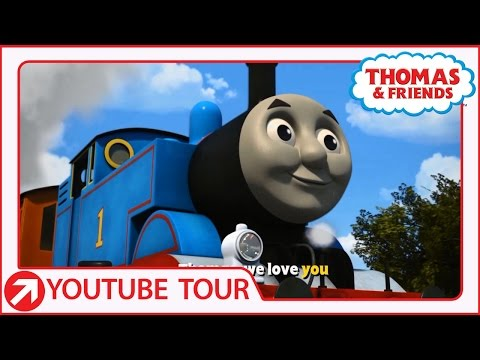 Thomas Anthem Song | YouTube World Tour | Thomas & Friends
