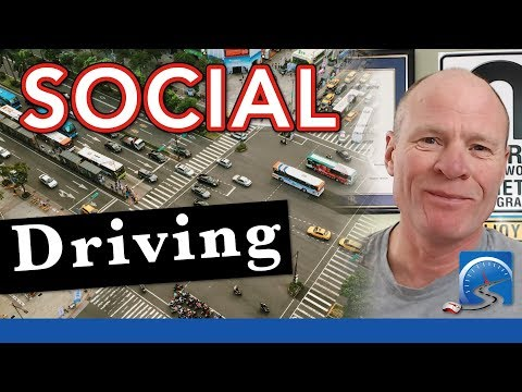 Learn how to deal with the Pressures of Social Driving & NOT Crash