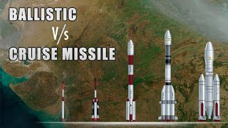 Difference Between Ballistic & Cruise missiles | Comparing Indian Missiles