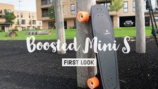 Boosted Board Mini S - First Look