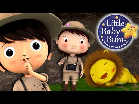 Going On A Lion Hunt | Nursery Rhymes | By LittleBabyBum!