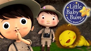 Going On A Lion Hunt | Nursery Rhymes | By LittleBabyBum