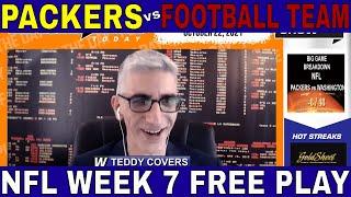 NFL Week 7 Picks and Predictions | Packers vs Football Team Betting Preview | Big Game Breakdown