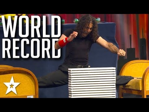 Martial Artist SMASHES World Record! | Got Talent Global