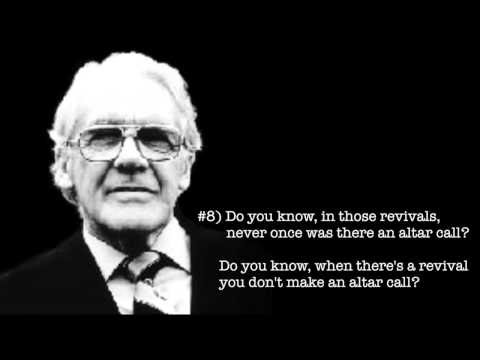 """""""To the Preacher"""" - The Idolatry of Intelligence, by Leonard Ravenhill (no music)"""