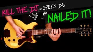 Скачать Kill The Dj Live Green Day Guitar Cover By GV Jason S Part Chords