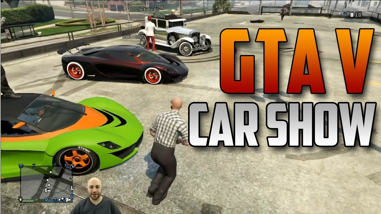 GTA V Car Show Competition Swiftor YouTube - Car show games