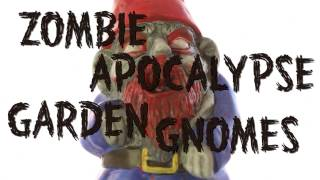Zombie Apocalypse Garden Gnomes from ThinkGeek