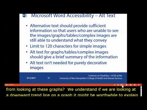 A Practical Path for Creating Accessible Documents with Microsoft Word (extended)