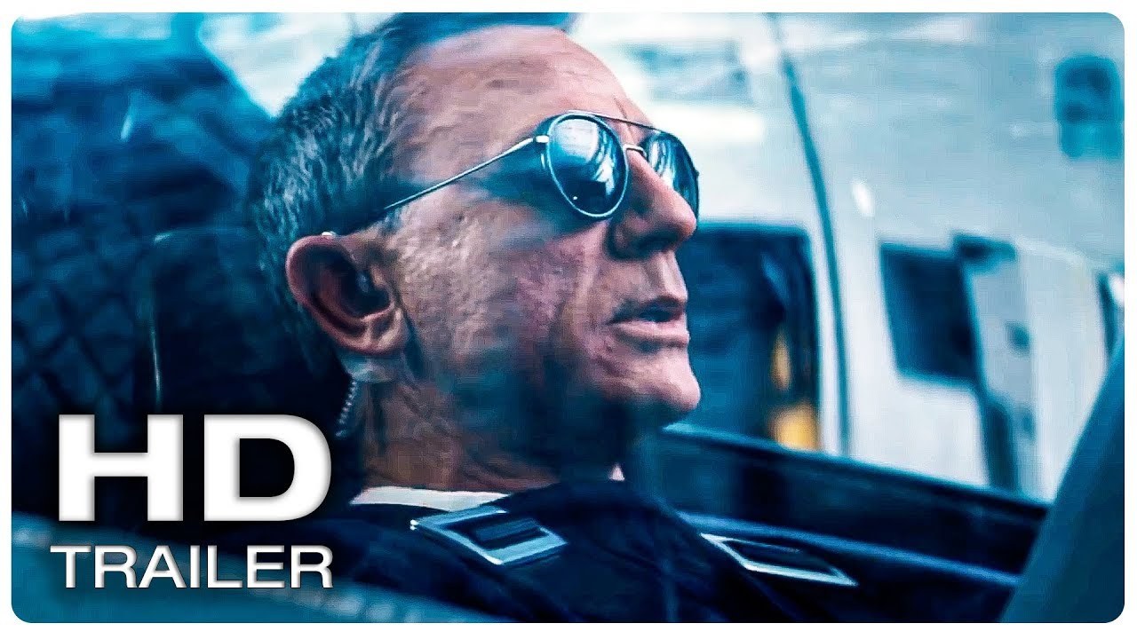 JAMES BOND 007 NO TIME TO DIE Trailer #2 Official (NEW 2020) Daniel Craig Action Movie HD