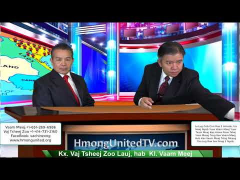 HMONG UNITED FOR JUSTICE 20/05/2018