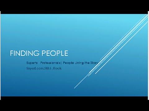 FindingPeople F16