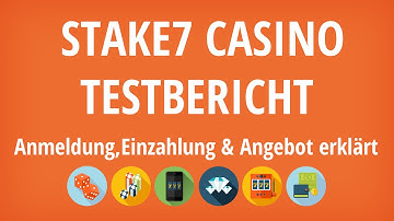 Stake7 Casino Testbericht: Anmeldung & Einzahlung erklärt [4K]