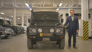 Обзор Land Rover Defender 110 2012