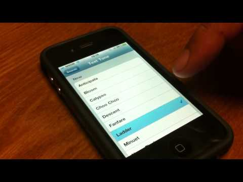 iOS4.2 New Text Tones for iPhone4