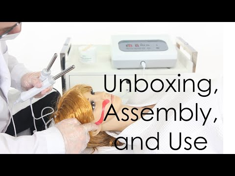 Microcurrent Bio-Lift Pro Unboxing, Assembly, And Use