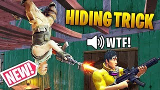 NEW HIDING TRICK!! - Fortnite Funny WTF Fails and Daily Best Moments Ep.1313