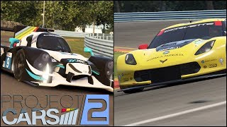 Project CARS 2 - GTE vs LMP2 at Watkins Glen!