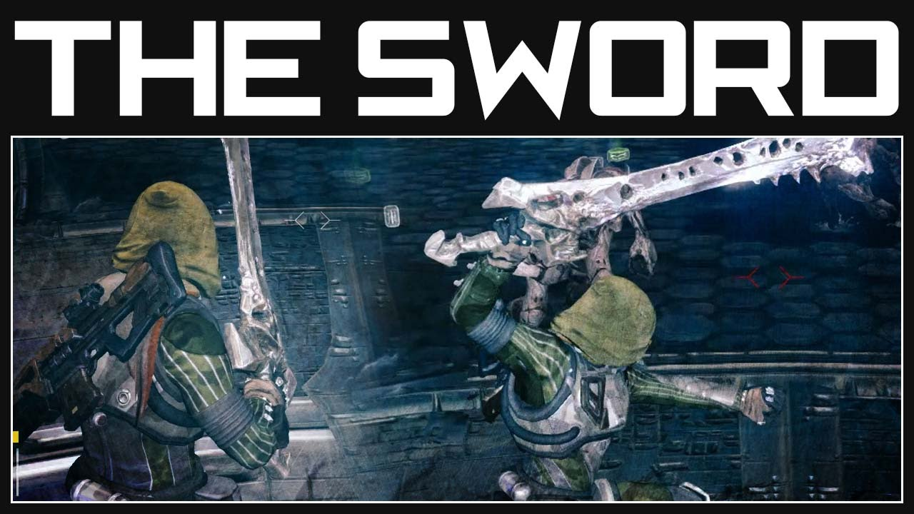 Destiny Sword Gameplay The Sword Of Crota Destiny Gameplay Youtube