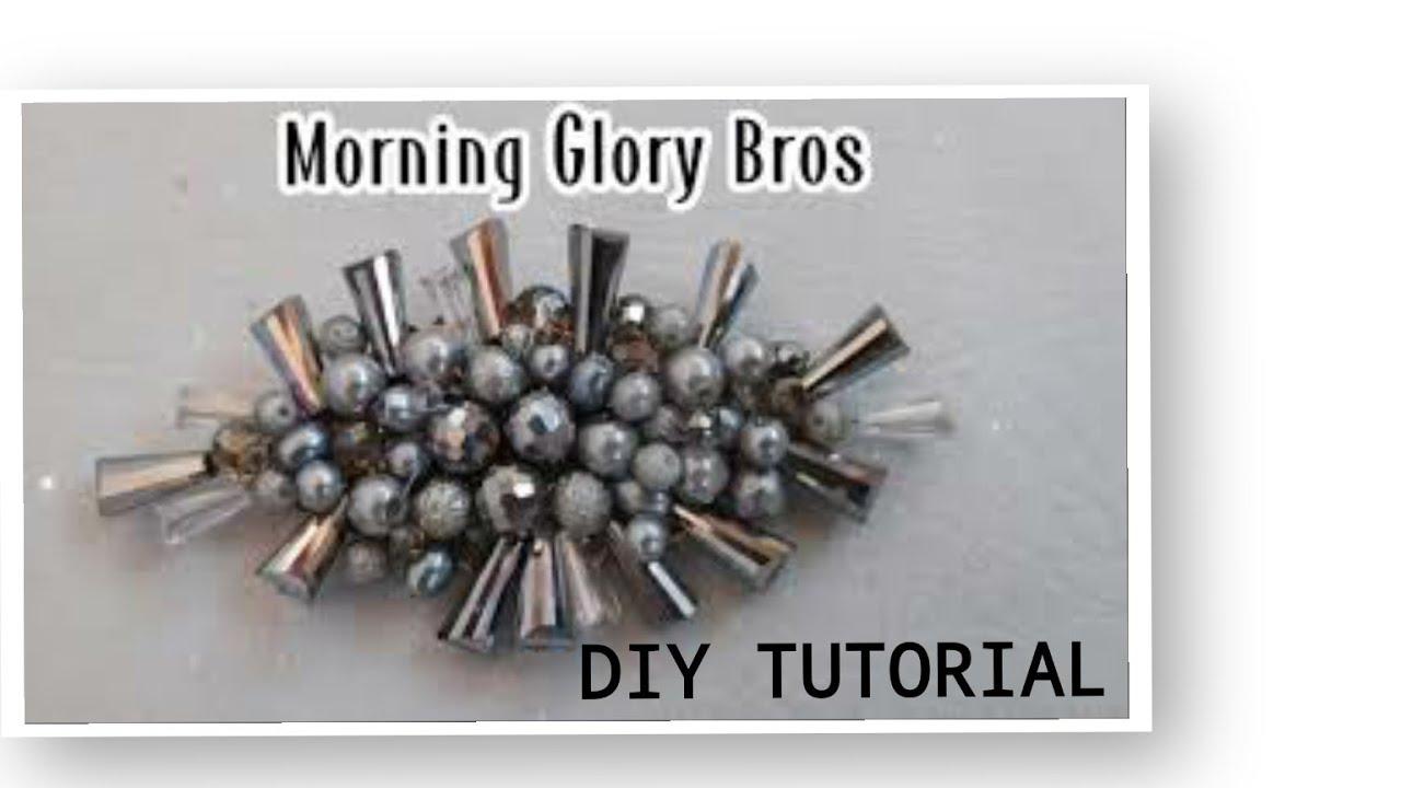 CARA BIKIN BROS KRISTAL MORNING GLORY cocok untuk acara resmi. Easy Jewelry Making