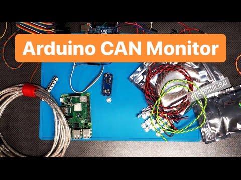 Arduino CAN Monitor (простейший монитор шины CAN)