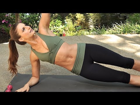 50 Min Workout with Weights | Full Body Routine for Women