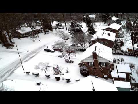 Gardner park snow drone gastonia nc