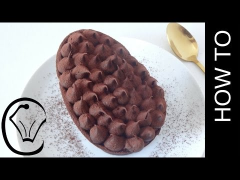 Loaded Chocolate Caramel Easter Egg With Truffle Topping By Cupcake Savvy's Kitchen