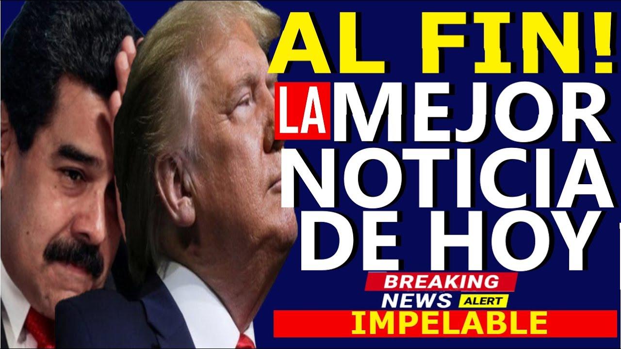 🔴HACE 5 MINUTOS, TRUMP ANUNCIA EL HOMBRE DE HIERRO PREPARA TODO SU PODER - UE ANUNCIA CONTRA MADURO