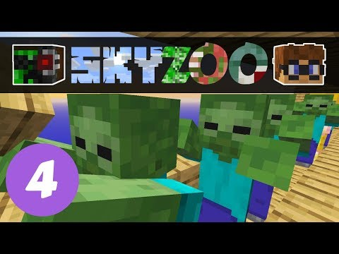 Sky Zoo #4: Doing the Conga | Minecraft Skyblock 1.14