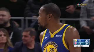 Kevin Durant Wants To Fight Andre Drummond! Then Laughs It Out!