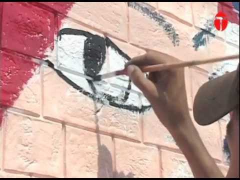 Spreading peace through art in Multan